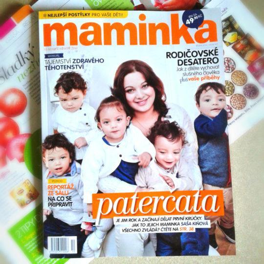 Maminka, titulka, září 2014