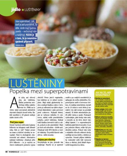 Kondice - leden 2015 - strana 1 - luštěniny